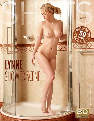 Lynne shower scene