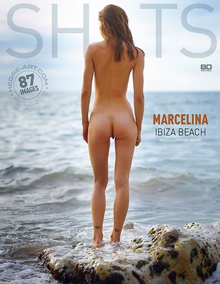 Marcelina Ibiza beach