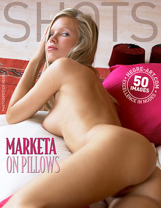 Marketa on pillows