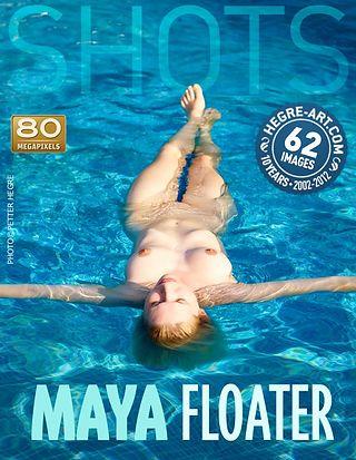 Maya flotador