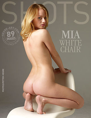 Mia white chair