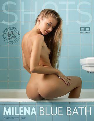 Milena bain bleu