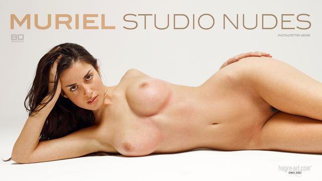 Muriel studio nudes