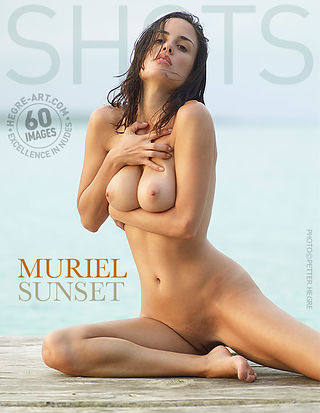 Muriel sunset