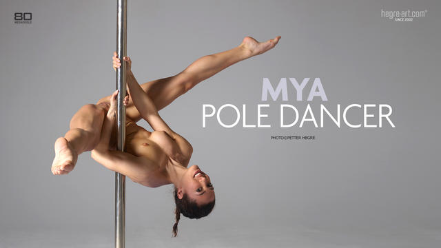 Mya pole dancer