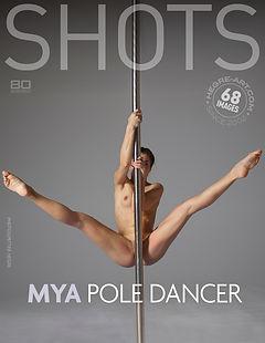 Mya Pole-Tänzerin