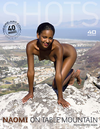 Naomi en Table Mountain