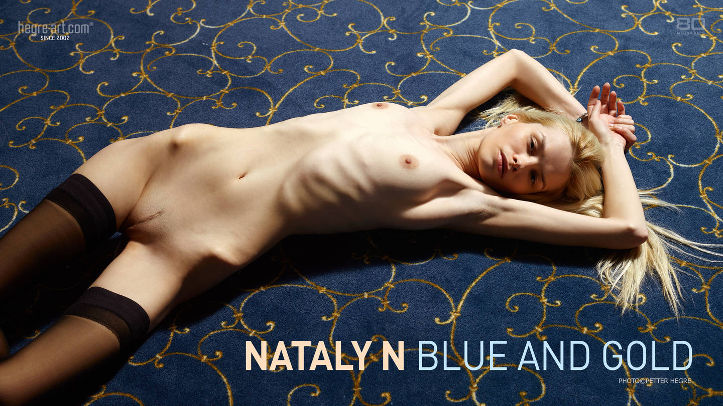 Nataly N Blue and Gold