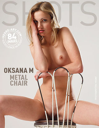 Oksana M. metal chair