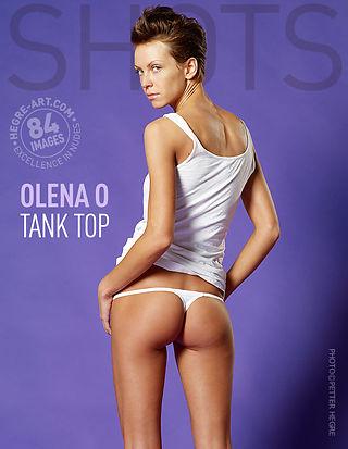 Olena O tank top