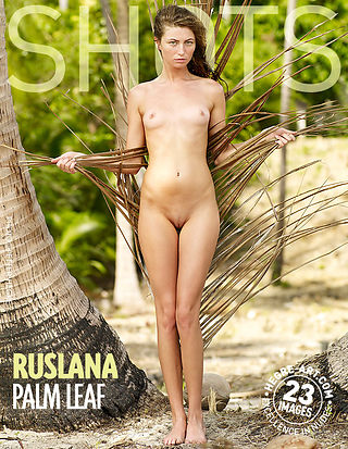 Ruslana hoja de palma