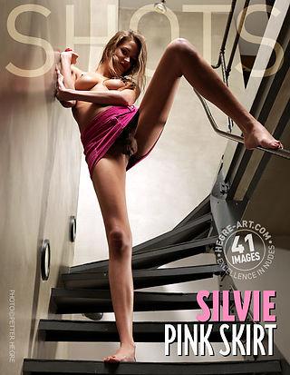 Silvie pink skirt