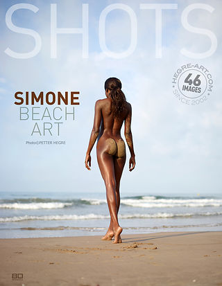 Simone beach art