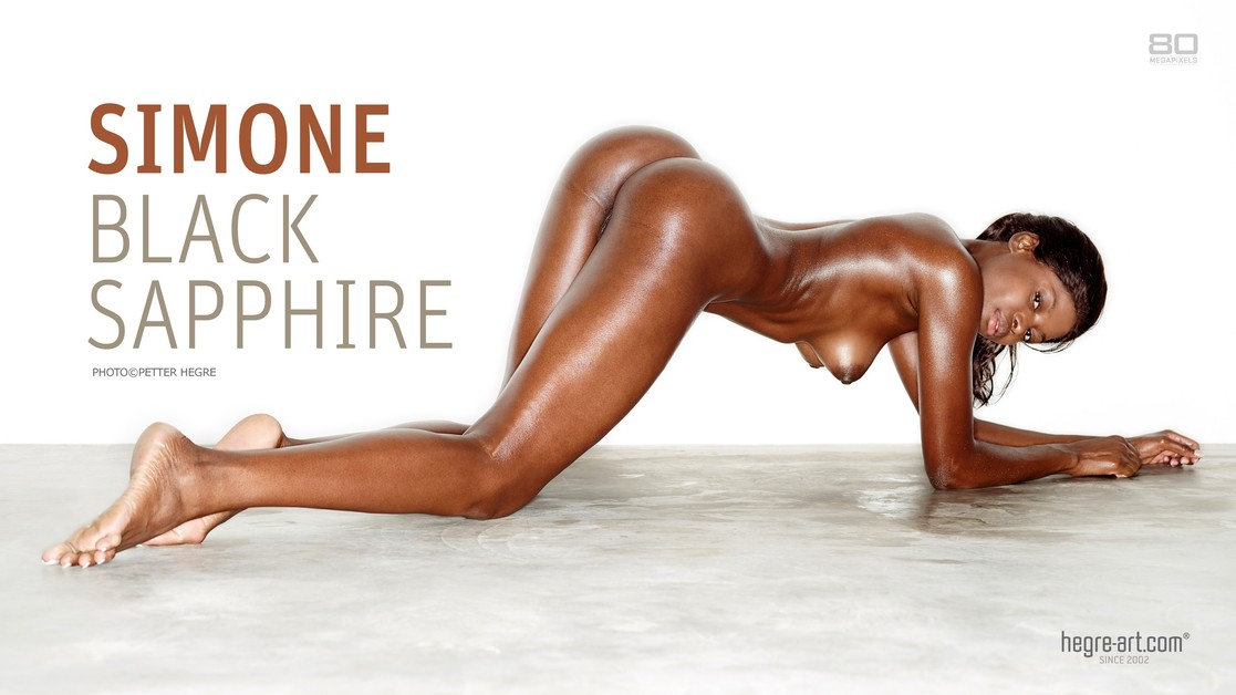Simone saphire noir