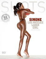 Simone Los Angeles Laker girl