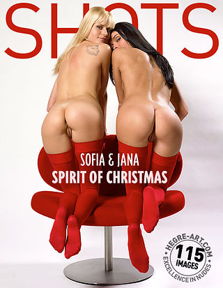 Sofia and Jana spirit of christmas