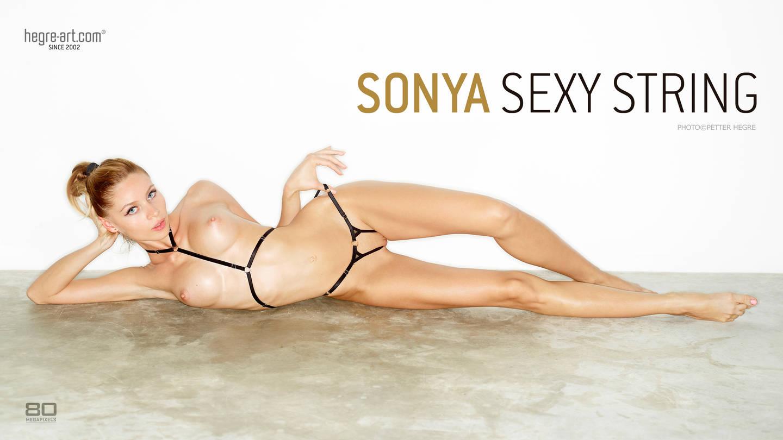 Sonya sexy string