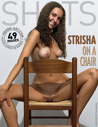Strisha on a chair
