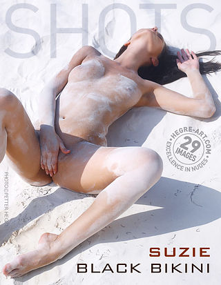 Suzie schwarzer Bikini