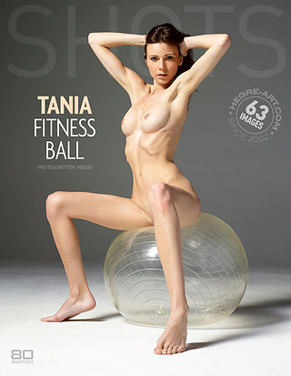 Tania fitness ball