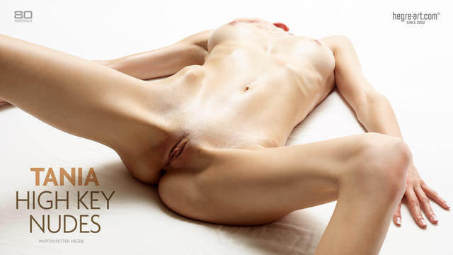 Tania high key nudes