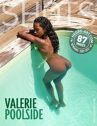 Valerie am Pool