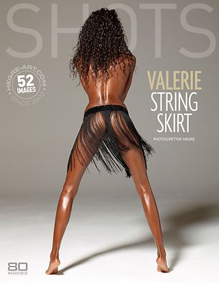 Valerie string skirt