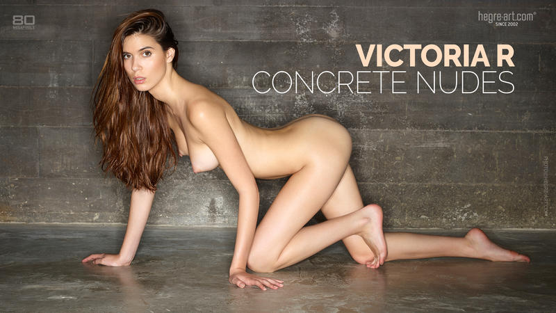 Victoria R concrete nudes