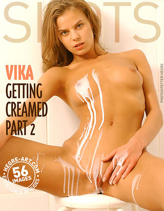 Vika getting creamed - part 2