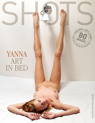 Yanna art in bed