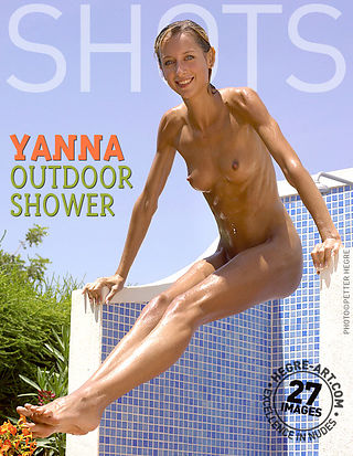 Yanna outdoor shower