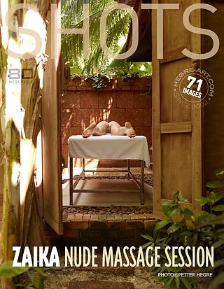 Zaika nude massage session