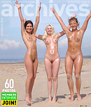 Three nymphs on the beach  Part 1