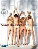 Alya Coxy Flora Thea Zaika tropical studio