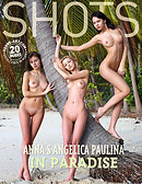 Anna S., Angelica, Paulina in paradise
