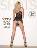 Anna S. black night dress