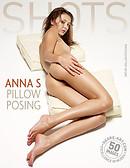 Anna S pillow posing