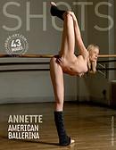Annette amerikanische Ballerina