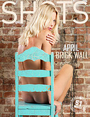 April brick wall