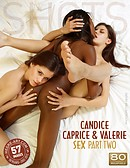 Candice Caprice and Valerie sex part2