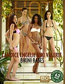 Candice Engelie Kiki Valerie bikini babes