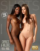 Caprice and Valerie yin and yang