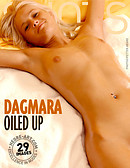 Dagmara oiled up