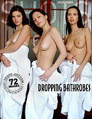 Dropping bathrobes