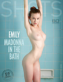 Emily Madonna in the bath