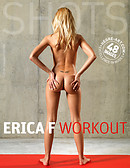 Erica F work out