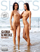 Gloria and Nicole naturists