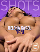 Helena Karel purple