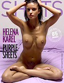 Helena Karel purple sheets