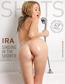 Ira singing in the shower